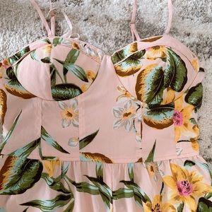 Tropical print  jumpsuit size s